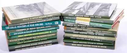 LARGE COLLECTION OF ASSORTED GREAT WESTEN RAILWAY BOOKS