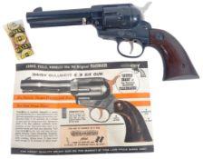 ORIGINAL VINTAGE DAISY BULLS EYE BB SIX GUN