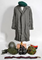 COLLECTION OF ASSORTED 20TH CENTURY BRITISH MILITARY UNIFORM ITEMS