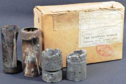 WWII SECOND WORLD WAR - ORIGINAL GERMAN INCENDIARY BOMB FRAGMENTS
