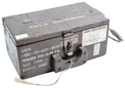 20TH CENTURY ROYAL MILITARY COLLEGE OF SCIENCE AMMO BOX