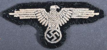 WWII SECOND WORLD WAR THIRD REICH WAFFEN SS CLOTH PATCH