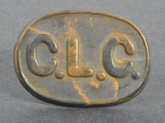WWI FIRST WORLD WAR CHINESE LABOUR CORPS UNIFORM BADGE