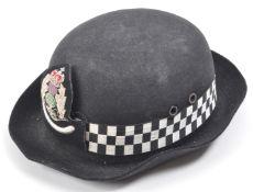 20TH CENTURY SCOTTISH POLICE FEMALE CHIEF SUPERINTENDENT HAT