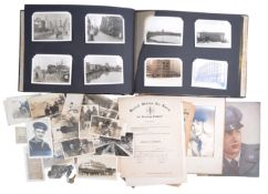 POST-WWII UNITED STATES AIR FORCE SOLDIER'S PHOTO ALBUM & EFFECTS