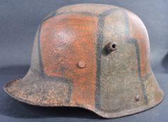 WWI FIRST WORLD WAR IMPERIAL GERMAN ARMY M16 HELMET