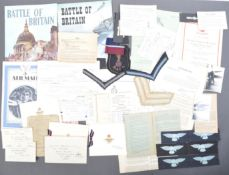 COLLECTION OF WWII ERA RAF ROYAL AIR FORCE EFFECTS