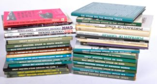 LARGE COLLECTION OF ASSORTED GREAT WESTERN STEAM RAILWAY BOOKS