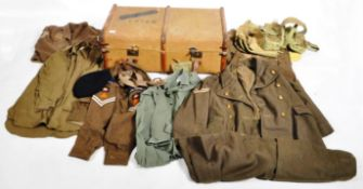 COLLECTION OF ASSORTED ROYAL CORPS OF SIGNALS UNIFORM ITEMS