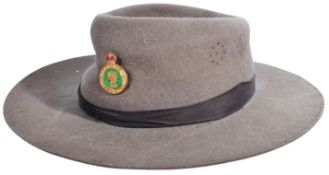 WWII SECOND WORLD WAR WOMEN'S LAND ARMY HAT