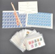 LARGE COLLECTION OF ASSORTED ADOLF HITLER POSTAGE STAMPS