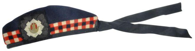 WWII SECOND WORLD WAR GORDON HIGHLANDERS GLENGARRY CAP