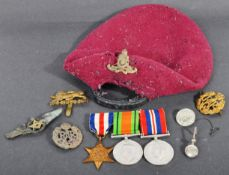 WWII SECOND WORLD WAR AIRBORNE MEDAL GROUP & EFFECTS
