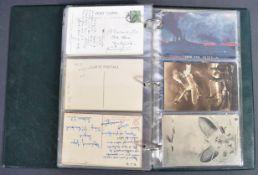 WWI FIRST WORLD WAR POSTCARDS - ZEPPELINS, GERMAN SHIPS ETC