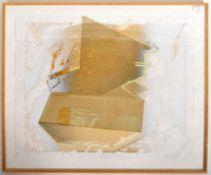 STEVE BARRACLOUGH - 1987 MIXED MEDIA MONOTYPE ARTIST'S PROOF PRINT