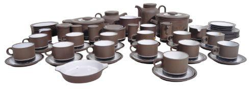 COLIN RAWSON - HORNSEA - CONTRAST - DINNER & TEA SERVICE