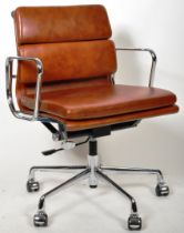 MANNER OF EAMES - CONTEMPORARY SOFT PAD OFFICE CHAIR