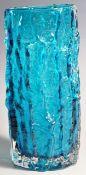 GEOFFREY BAXTER - WHITEFRIARS - 9691 VASE IN KINGFISHER BLUE