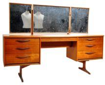 ORIGINAL 1960'S AUSTINSUITE TEAK WOOD DRESSING TABLE DESK