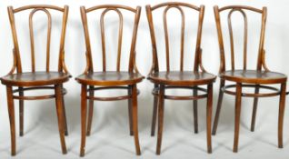 MICHAEL THONET - SET OF FOUR DINING / BISTRO CAFE CHAIRS