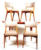 BEN CHAIRS - ORIGINAL 1950'S DINING TABLE & CHAIRS SUITE