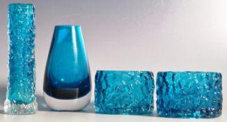 GEOFFREY BAXTER - WHITEFRIARS - TEXTURED RANGE - COLLECTION OF GLASS