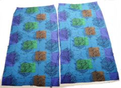 LINDEN BY LUCIENNE DAY - PAIR OF 60'S DESIGNER CURTAINS