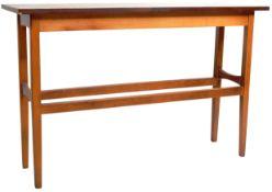 RETRO VINTAGE 1960'S DANISH TEAK CONSOLE TABLE