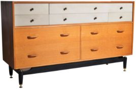 E. GOMME - G-PLAN MID 20TH CENTURY GOLDEN OAK SIDEBOARD CHEST