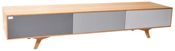CONTEMPORARY 21ST CENTURY LOW TELEVISION STAND