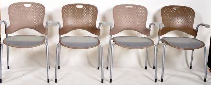 HERMAN MILLER - CAPER - SET OF STACKING CHAIRS