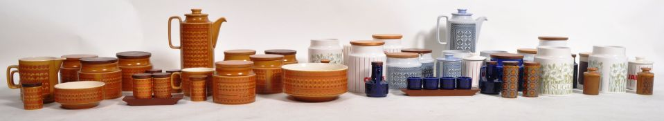 HORNSEA - EXTENSIVE 1970S TAPESTRY, FLEUR & OTHER KITCHENWARE