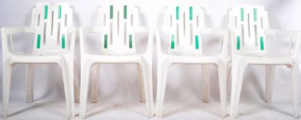 SET OF FRENCH GARDEN CHAIRS BY HENRY MASSONNET PIERRE PAULIN