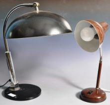 H BUSQUET - HALA ZEIST - MODEL 144 - GERMAN BAUHAUS LAMP
