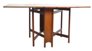 MACINTOSH RETRO 70'S TEAK DROP LEAF DINING TABLE