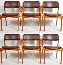 ERIC BUCH - OD MOBLER - MODEL 49 DINING CHAIRS