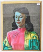 AFTER TRETCHIKOFF - MISS WONG - RETRO VINTAGE PRINT