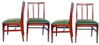 JOHN HERBERT FOR YOUNGERS - FONSECA - SET OF FOUR DINING CHAIRS