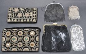 COLLECTION OF VINTAGE 20TH CENTURY LADIES PURSES