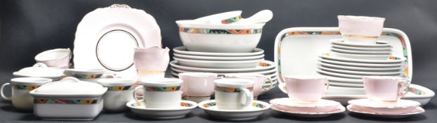 1980'S THOMAS GERMANY DINNER WARE AND COLCLOUGH TEA SERVICE