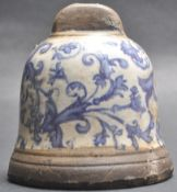 19TH CENTURY CHINESE ORIENTAL PORCELAIN BELL