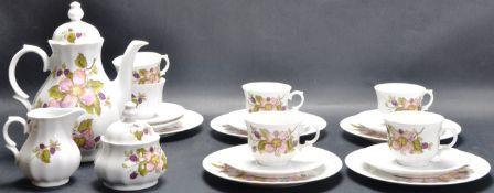 CERAMIC PORCELAIN TEA SERVICE BY WUNSIEDEL BAVARIAN