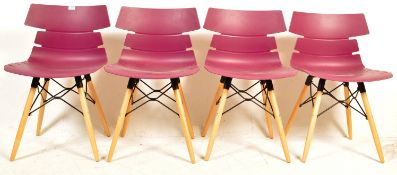 SET OF FOUR HOXTON DINING CHAIRS