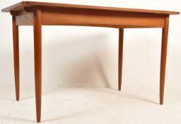 1950'S TEAK WOOD DANISH INSPIRED EXTENDING DINING TABLE