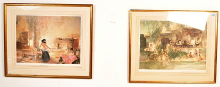 TWO WILLIAM RUSSELL FLINT PRINTS