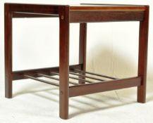 DANISH TEAK WOOD SIDE TABLE BY BRDR. FURBO