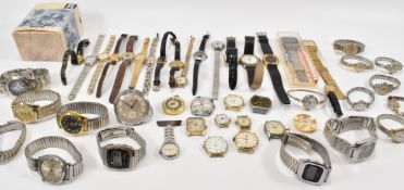 COLLECTION OF ASSORTED WRIST WATCHES