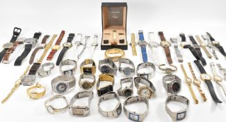 LARGE COLLECTION OF VINTAGE WATCHES