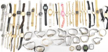 COLLECTION OF VINTAGE MIXED WRIST WATCHES