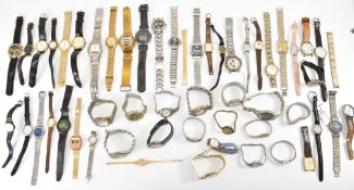 LARGE COLLECTION OF MIXED WRIST WATCHES
